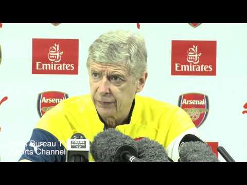 Arsene Wenger pre Burnley vs Arsenal