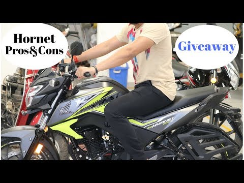 Hornet 160r Pros & Cons.GIVEAWAY.
