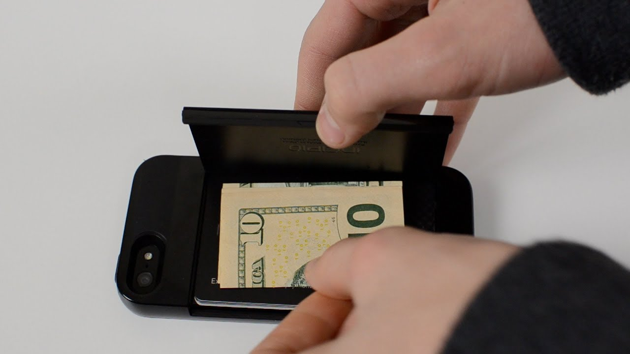 Review incipio stowaway case for iphone 5 credit card for Iphone business card holder
