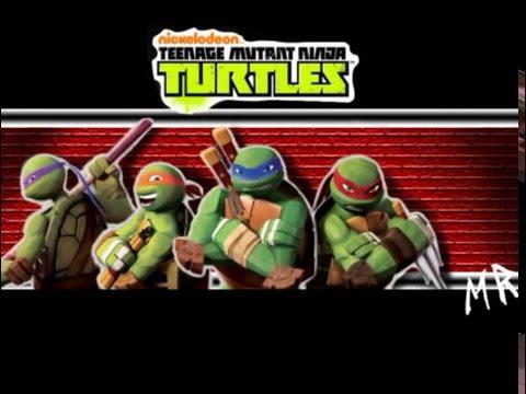 TMNT 2012 Opening Theme Song Music HD Nick Animated Show Lyrics On Screen