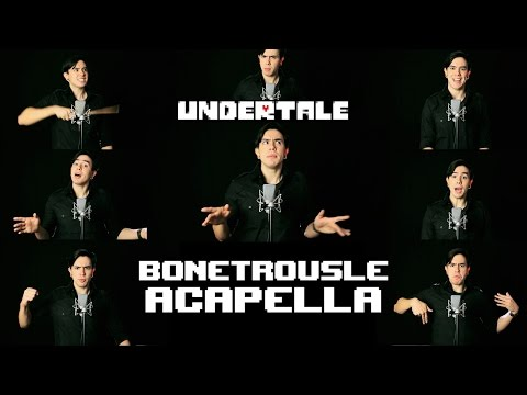 Undertale - Bonetrousle【Acapella】Music Song by NateWantsToBattle