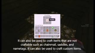 Custom crafting in minecraft 1.8.3