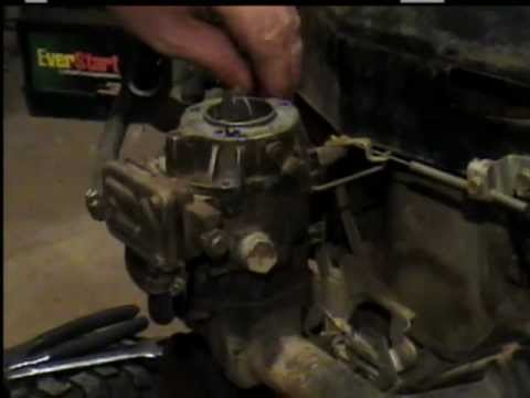 Carburetor Cleaning and Fuel pump Repair