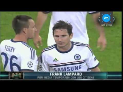 Frank Lampard se va a préstamo al Manchester City de la Premier League