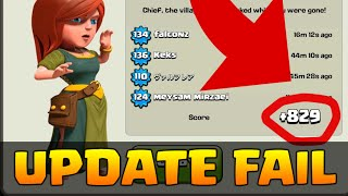 UPDATE BROKEN TROPHIES - CLASH OF CLANS TOWN HALL 11 UPDATE RANT!