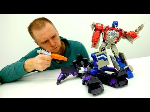 #Трансформеры! Автоботы против Гальватрона и Джокера. Мультики для мальчиков