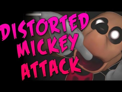 Distorted Mickey Attack!-new Update Garry's Mod Five Nights At Treasure Island W  Events video