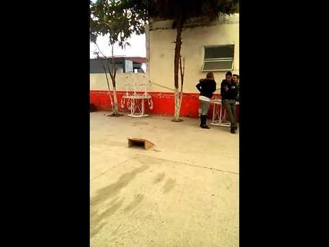 Skate en la escuela....tulancingo HGo....