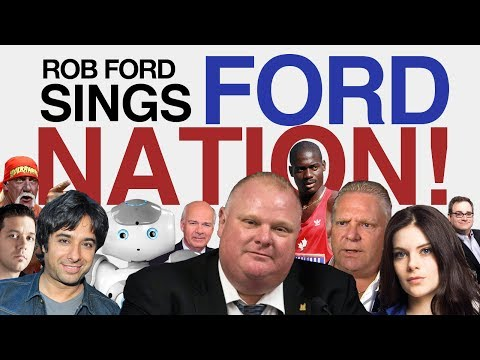 "Rob Ford sings ""Ford Nation!"", a song that explores the deeper layers of the infamous mayor's troubled past and hopes for re-election. Featuring vocal contri..."