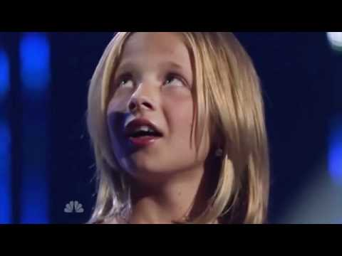 Jackie Evancho first audition Americas Got Talent full with ....
