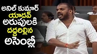 YCP Minister Anil Kumar Yadav Aggressive Speech in AP Assembly | AP Assembly Today | Filmylooks