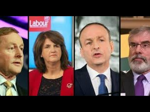 Leaders Debate on TV3 - Spat on Crime Issue