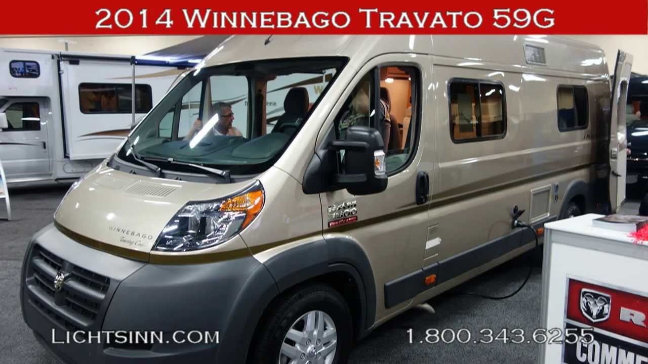 Lichtsinn Com New 2014 Winnebago Travato 59g Motor Home