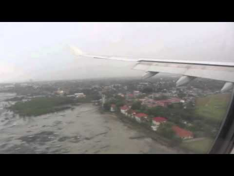 Philippine Airlines Airbus A330 | Landing in Mactan-Cebu International Airport