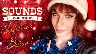 🎉 CHRISTMAS SPECIAL🎄[ASMR] Sounds Assortment #5