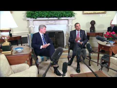 President Obama and PM Harper on Ongoing Recovery Efforts