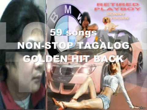 59 Songs Non-stop Tagalog Golden Hit Back sonny Layugan video