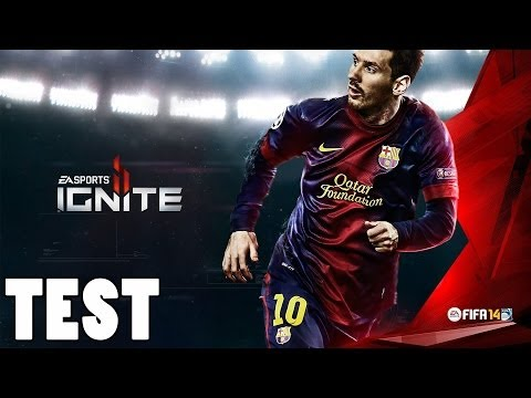 FIFA 14 PS4 Test/Review (Ignite Engine) [German]