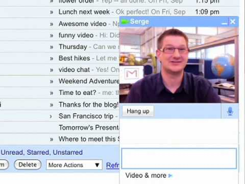 Gmail Video Chat   Googles Voice and Video Chat   A Work In Progress