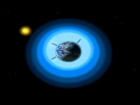 The Earth's ionosphere affect on low frequencies