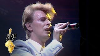 David Bowie - Heroes (Live Aid, 1985)