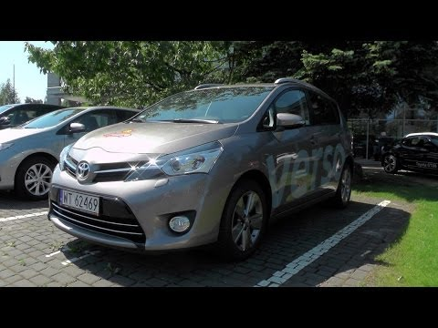 Toyota Verso 2014, Start Up, Test Drive, Acceleration and In Depth Tour
