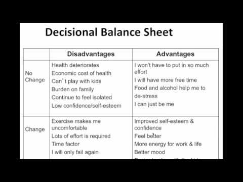 motivational interviewing worksheets