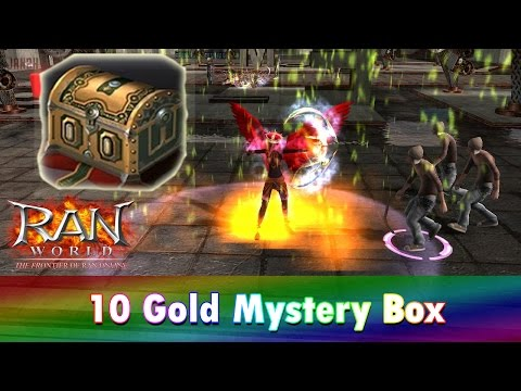 RAN WORLD: Opening 10 Gold Mystery Box!!! (Tagalog)