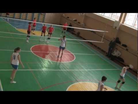 Волейбол. Игра NRG - НУБиП (часть 2)