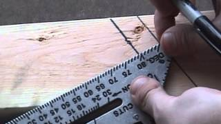 Construction Rocks- Marking Hip & Valley Rafters With a Speed Square (Part 2)