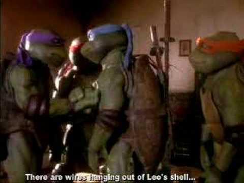TMNT Movie (1990) Mistakes
