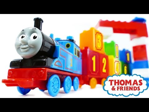 Thomas and Friends 123 Count with Thomas Numbers 1-10