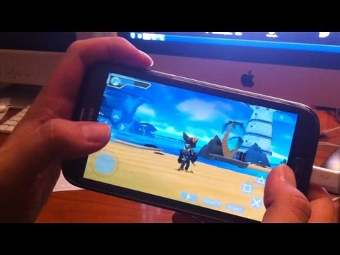 PPSSPP Gold - Best PSP Emulator for Android (on Samsung Galaxy Note II)!
