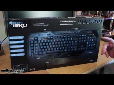 Unboxing: ROCCAT Isku Illuminated Gaming Keyboard (ROC-12-701)