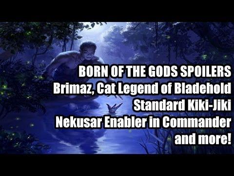 Born of the Gods Spoilers: Hero of Bladehold 2.0. Standard Playable Kiki Jiki. and more!