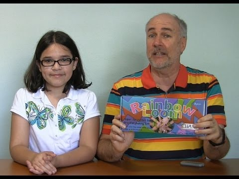 Rainbow Loom Review- Make 3-D Friendship Bracelets- EpicReviewGuys CC