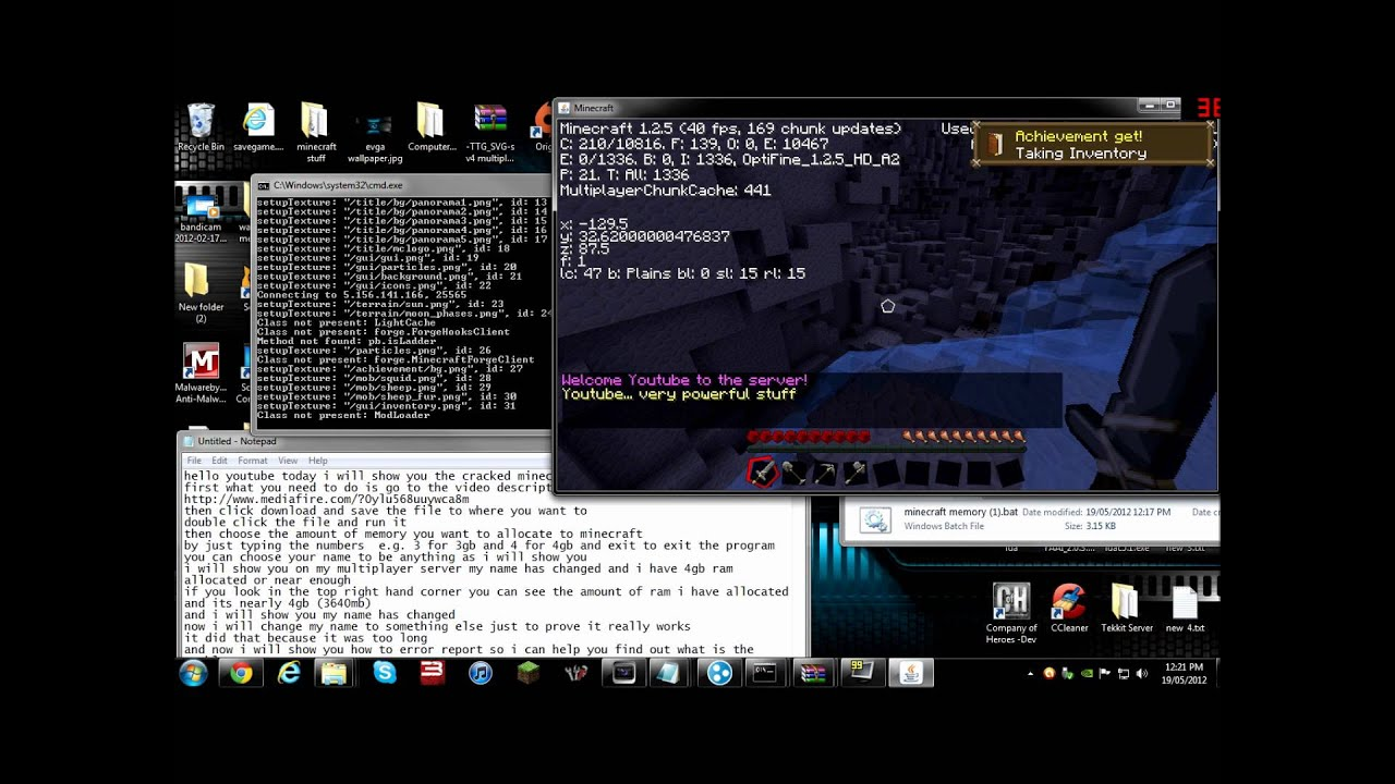 Download Minecraft 1.13.2/1.12.2/1.11.2 Launcher Free with ...