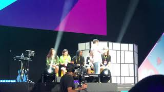 Vidcon 2019 Day 3 (Smosh's Try Not To Laugh Live😂 with the lucky fans part 1) Feat. Noah Grossman