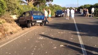 Incidente mortale sull'Alghero-Bosa