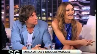 Emilia Attias y Nicolás Vazquez - Susana Gimenez 2007