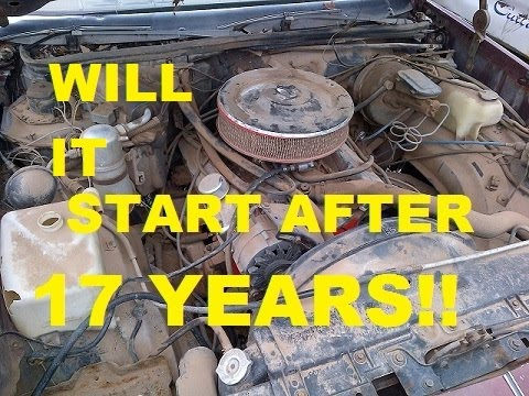 Cutlass Barn Find Start Up After Sitting 17 YEARS Classic G-Body