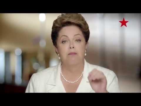 Último programa eleitoral de Dilma Rousseff na TV