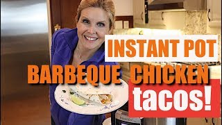 Instant pot chicken taco recipe  |   3 ingredients  - SUPER SIMPLE