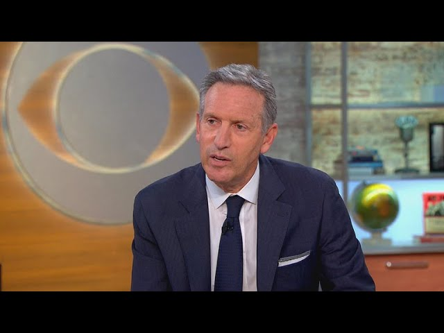 "Starbucks' Howard Schultz: Anti-bias training ""just a beginning"""