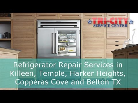 Refrigerator Repair in Killeen. Temple Texas Areas - Review Video