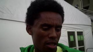 Feyisa Lilesa Speaks About Oromo Protesters in Ethiopia
