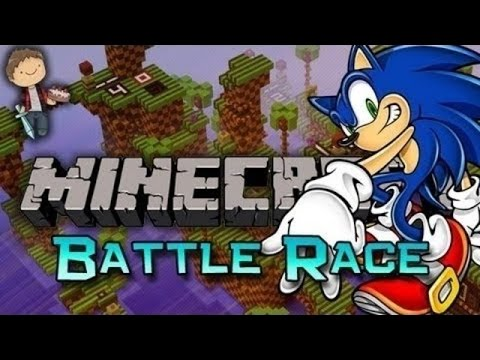 Minecraft: Sonic The Hedgehog Battle-race! W mitch & Jerome video