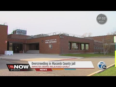 Overcrowding in Macomb County Jail