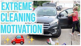 CLEAN WITH ME 2019 | ULTIMATE CAR CLEANING MOTIVATION 🚗✨💪 Brianna K