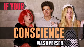 If Your Conscience Was A Person (w/ Lele Pons) | Brent Rivera